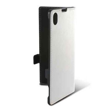 Sony Xperia Z1 Ksix Folio Case White