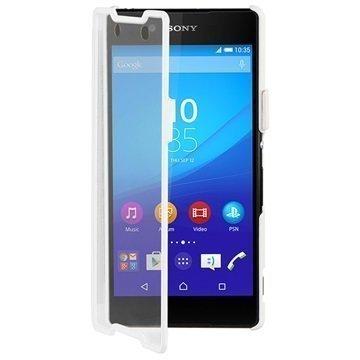 Sony Xperia Z3+ Roxfit Touch Book Case White