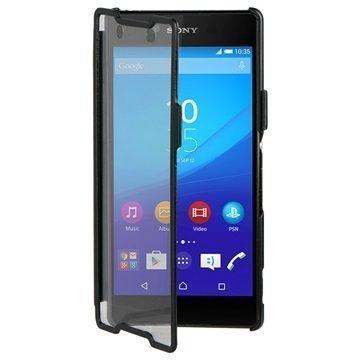 Sony Xperia Z3+ Roxfit Touch Book Kotelo Musta