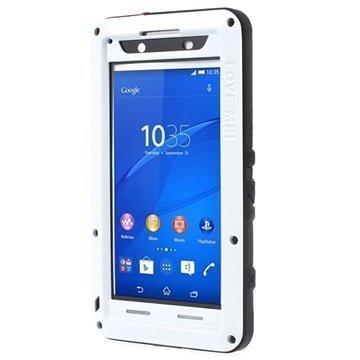 Sony Xperia Z3+ Xperia Z3+ Dual Love Mei Powerful Hybrid Suojakuori Valkoinen