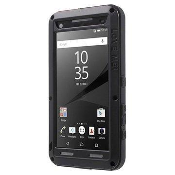 Sony Xperia Z5 Compact Love Mei Powerful Hybrid Suojakuori Musta