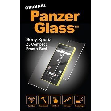 Sony Xperia Z5 Compact PanzerGlass Front+Back Screen Protector