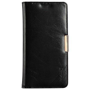 Sony Xperia Z5 Premium Kalaideng Royale II Nahkainen Lompakkokotelo Musta