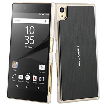 Sony Xperia Z5 Roxfit Titanium Slim Shell Kuori Musta