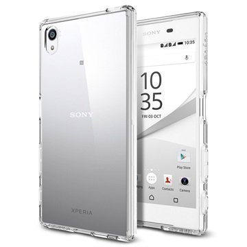 Sony Xperia Z5 Spigen Ultra Hybridikotelo Kristallinkirkas