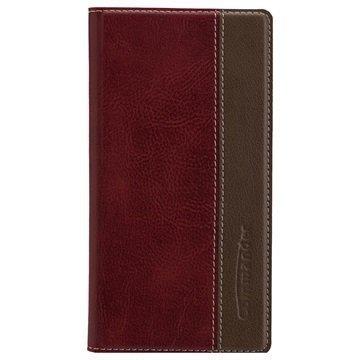 Sony Xperia Z5 Xperia Z5 Dual Commander Book Läppäkotelo Lempeä Punainen