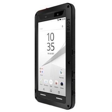 Sony Xperia Z5 Xperia Z5 Dual Love Mei Powerful Hybrid Suojakuori Musta