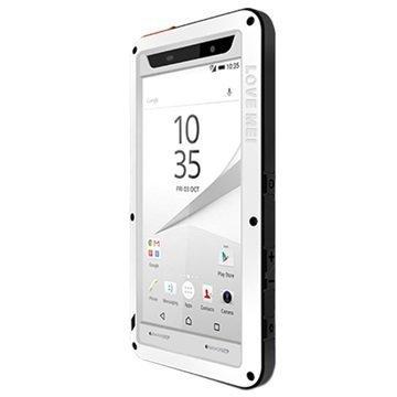 Sony Xperia Z5 Xperia Z5 Dual Love Mei Powerful Hybrid Suojakuori Valkoinen