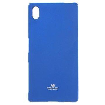 Sony Xperia Z5 Xperia Z5 Dual Mercury Goospery TPU Kotelo Sininen