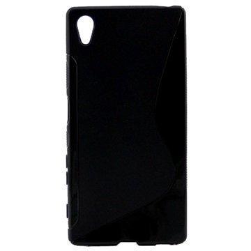 Sony Xperia Z5 Xperia Z5 Dual Tuff-Luv TPU-Kotelo Musta