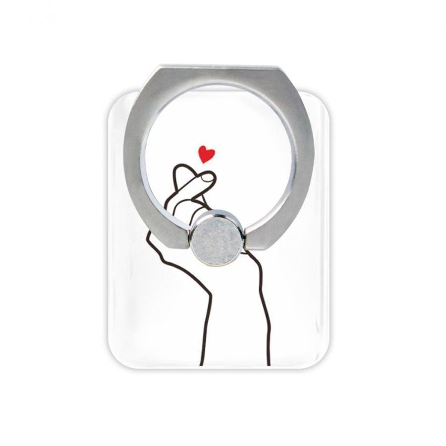 Sormi Rengas Standi Älypuhelimille Rakkauden Ele