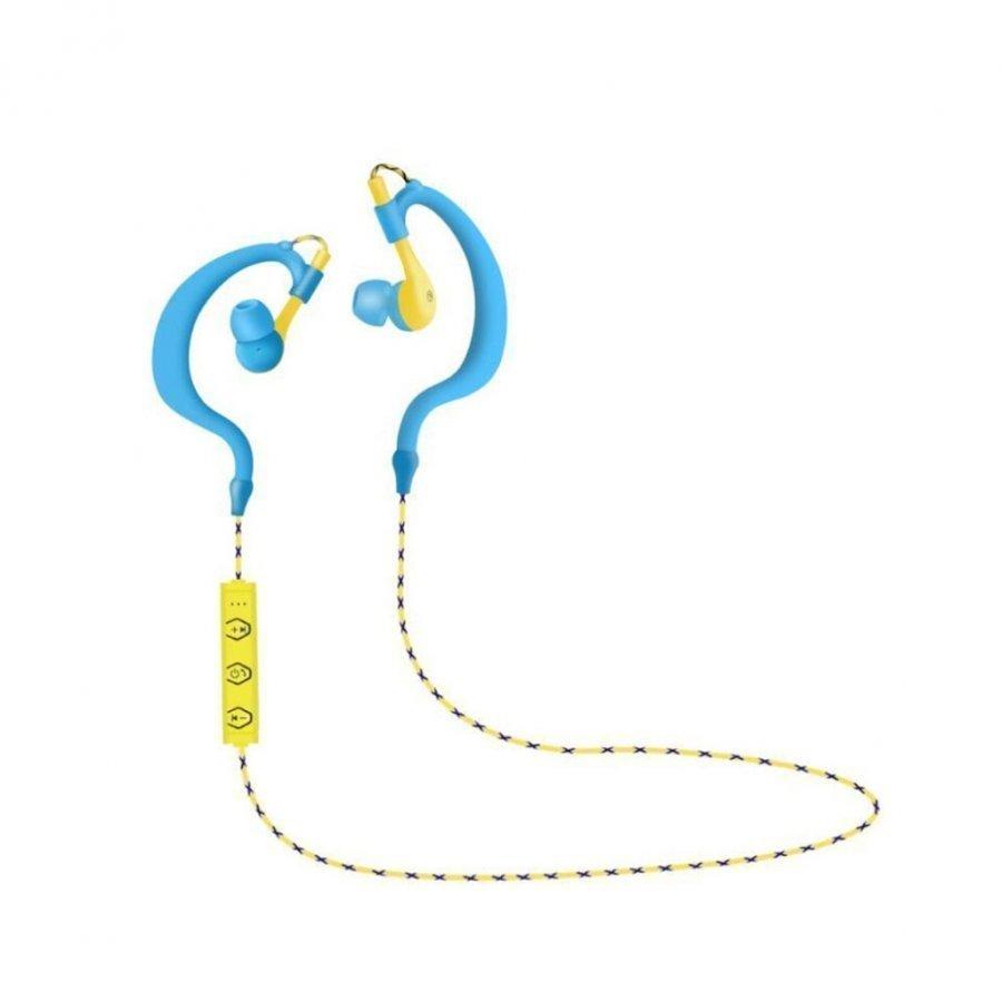 Souyo Bt136 Langattomat Bluetooth Kuulokkeet Mikrofonilla Sininen / Keltainen