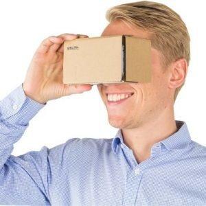 Spectra Optics Cardboard 3D VR Glasses