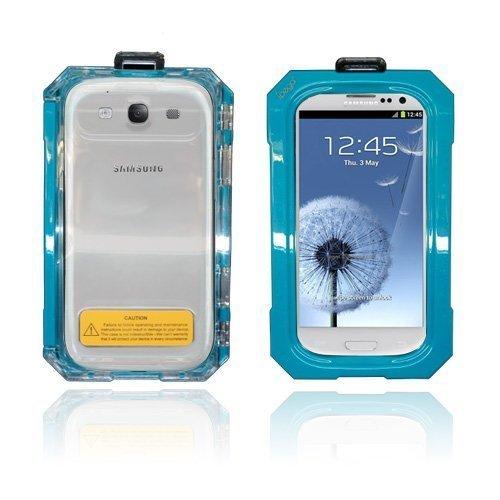 Splash Samsung Galaxy S3 Vesitiivis Kotelo Turkoosi