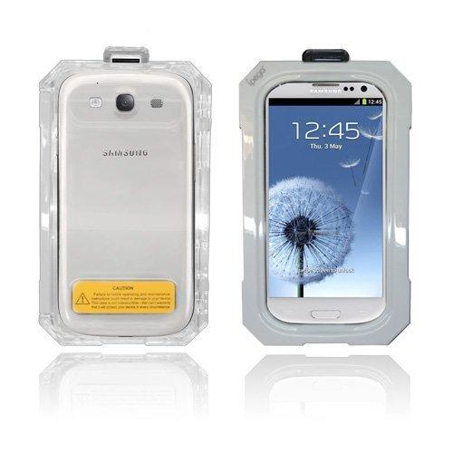 Splash Samsung Galaxy S3 Vesitiivis Kotelo Valkoinen
