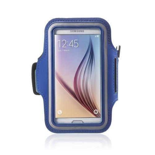 Sports Juokseminen Käsivarsikotelot Älypuhelimille Koko 14.6 X 7.3cm Sininen
