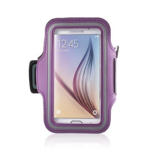 Sports Juokseminen Käsivarsikotelot Älypuhelimille Koko 14.6 X 7.3cm Violetti