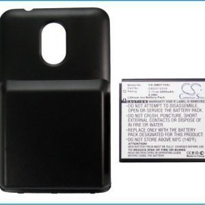 Sprint SPH-D710 Sprint Galaxy S II Epic Touch 4G Extended With Back Cover yhteensopiva akku 2400 mAh