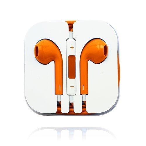 Stereo Kuulokkeet With Kaukosäätimellä Oranssi
