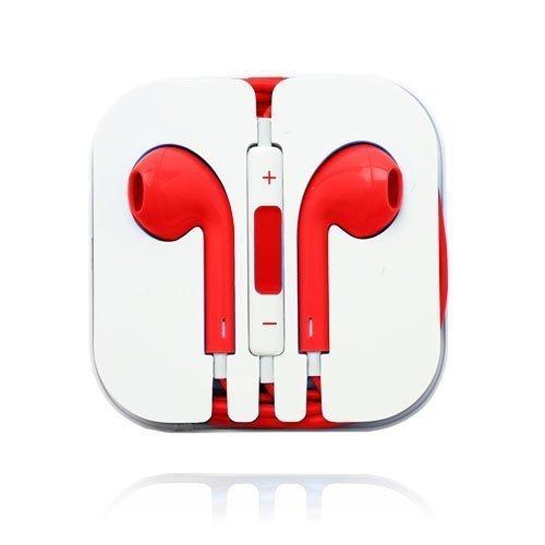 Stereo Kuulokkeet With Kaukosäätimellä Punainen