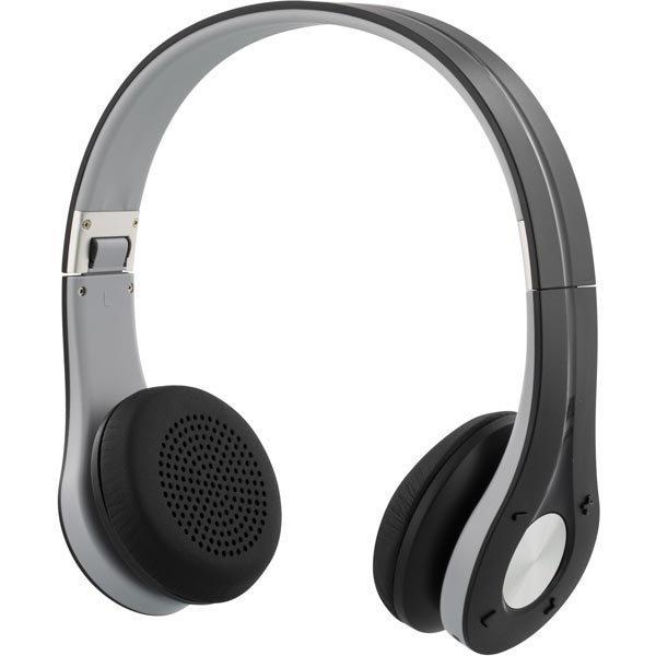 Streetz Bluetooth-kuulokkeet jossa mikrofoni BT4.0+EDR musta/harmaa