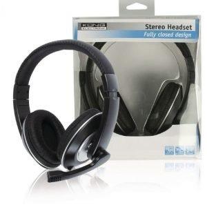 Suljettu stereo headset