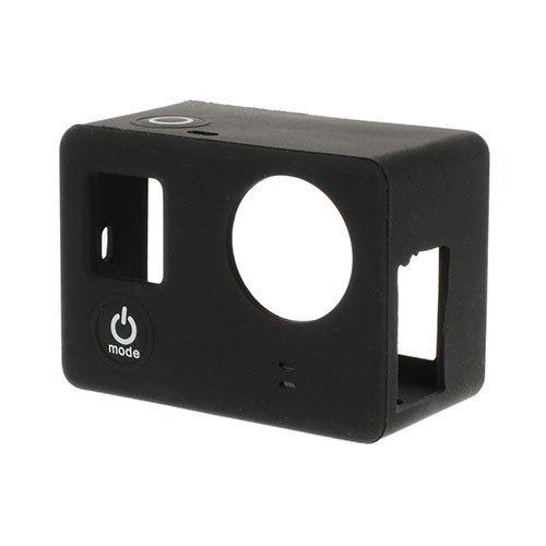 Suojaava Silikoni Kotelo Gopro3 3+ Kameroille Musta