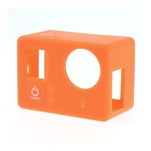 Suojaava Silikoni Kotelo Gopro3 3+ Kameroille Oranssi