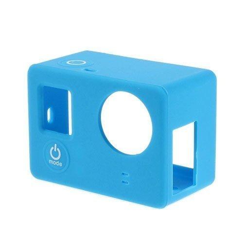 Suojaava Silikoni Kotelo Gopro3 3+ Kameroille Sininen