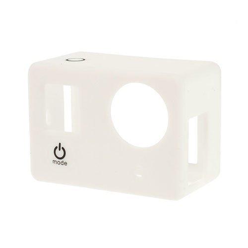 Suojaava Silikoni Kotelo Gopro3 3+ Kameroille Valkoinen