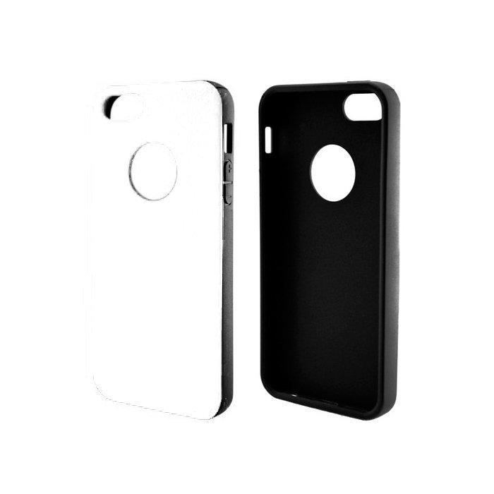 Super Case iPhone 5/5s Valkoinen/Musta