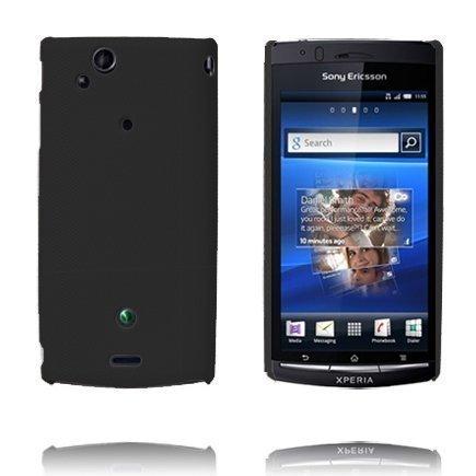 Supreme Musta Sony Ericsson Xperia Arc Suojakuori