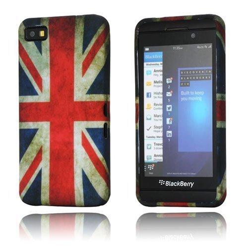 Symphony Ison-Britannian Lippu Blackberry Z10 Suojakotelo