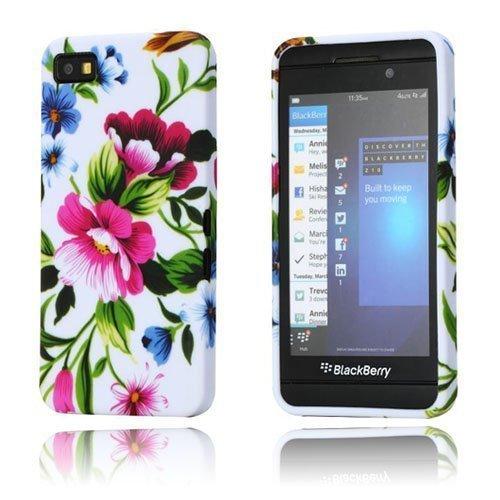 Symphony Pinkit Kukat Blackberry Z10 Suojakotelo