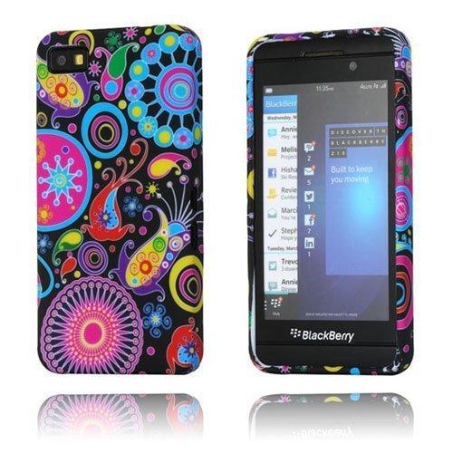 Symphony Yön Värit Blackberry Z10 Suojakotelo