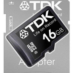 TDK microSDHC 16GB Class 10