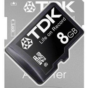 TDK microSDHC 8GB Class 10
