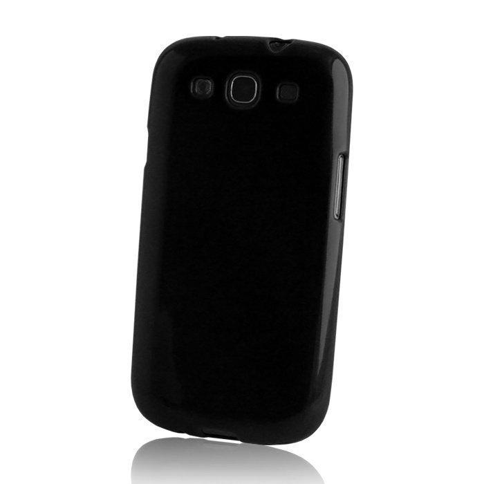TPU Case silikoninen suojakotelo Samsung Galaxy S5 Mini musta