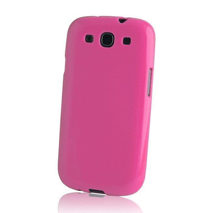 TPU Case silikoninen suojakotelo iPhone 6 4.7'' pinkki
