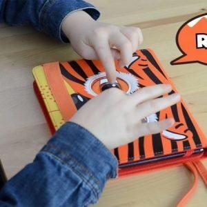 "Tab Zoo Tablet App-Sleeve Tiger 7-8"" universal"