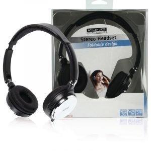 Taittuva stereo headset
