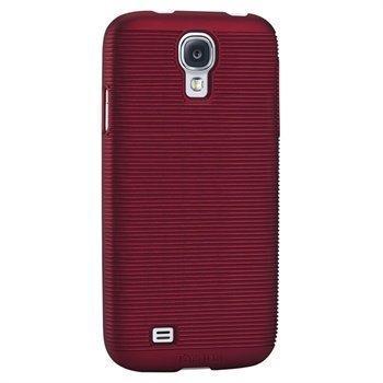 Targus Slim Laser Napsautuskuori Samsung Galaxy S4 I9500 I9505 Punainen