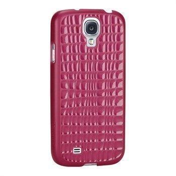 Targus Slim Wave Napsautuskuori Samsung Galaxy S4 I9500 I9505 Fuksianpunainen