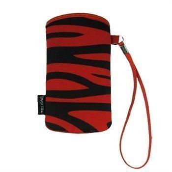 TelOne Zibi Case LG GD510 Pop KE970 Shinem Nokia 6600i slide X3 Red
