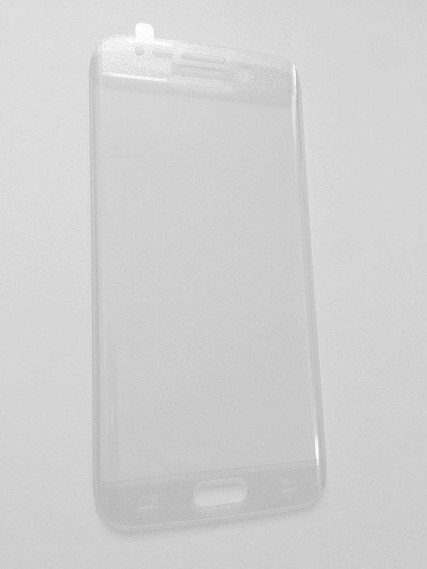 Tempered Glass Iskunkestävä Panssarilasi Samsung Galaxy S6 Edge G925 Kaareva koko näytön suoja