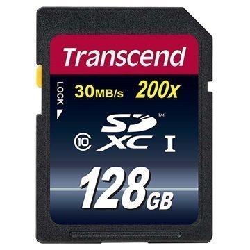 Transcend Premium 200x SDXC Muistikortti 128Gt