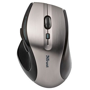 Trust MaxTrack Wireless Mouse Black / Grey
