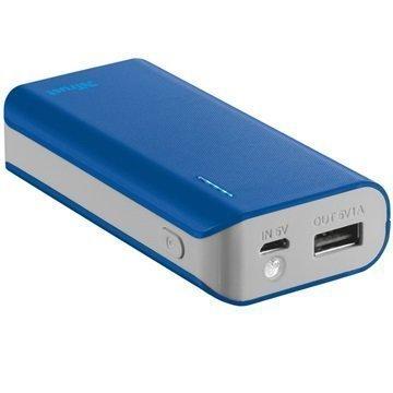 Trust Primo 4400mAh Power Bank & Flashlight Blue