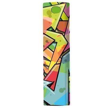 Trust Urban Tag PowerStick 2600mAh Power Bank Graffiti Arrows
