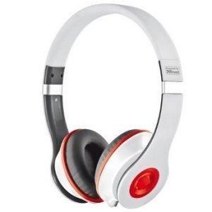 Trust UrbanRevolt Headset Bazz Lite White & Red